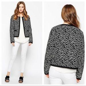Gestuz  • Zeniba Zebra Print Jacket